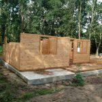 Stelarz domku drewnianego Pabianice