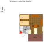Domek drewniany Łódź